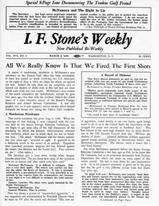 I.F. Stone's Weekly