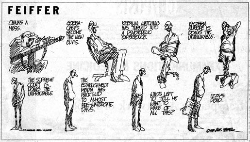 Feiffer I.F. Stone Cartoon